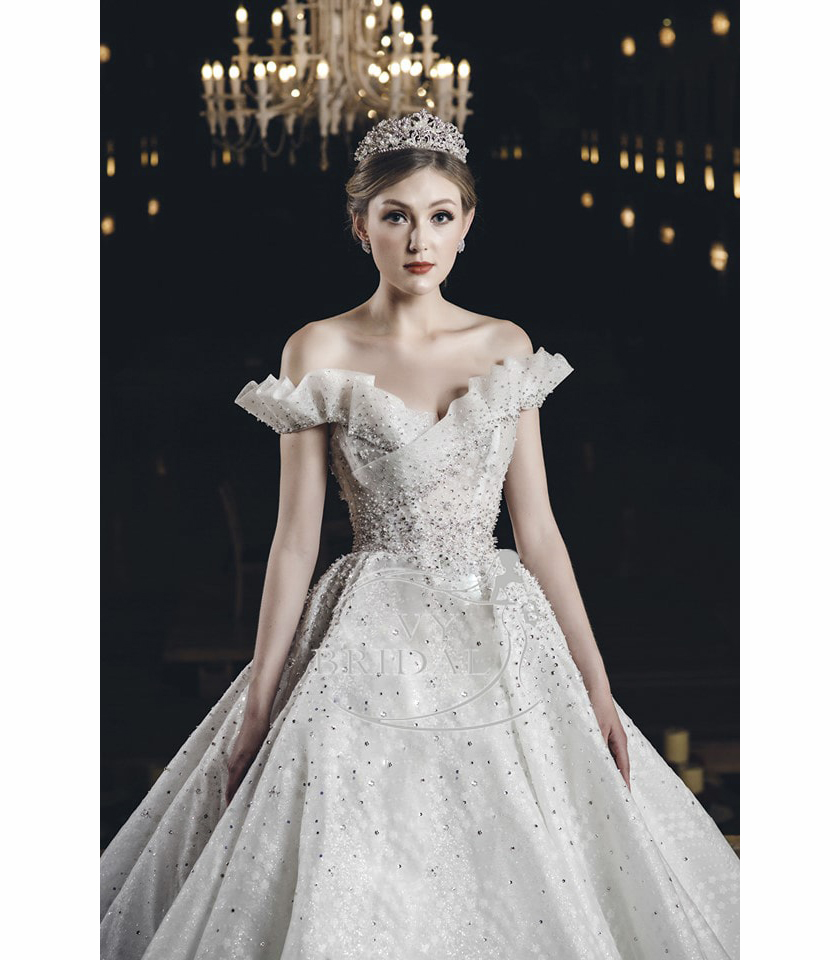 Luxury Wedding Dress - Váy Nhũ Hoa