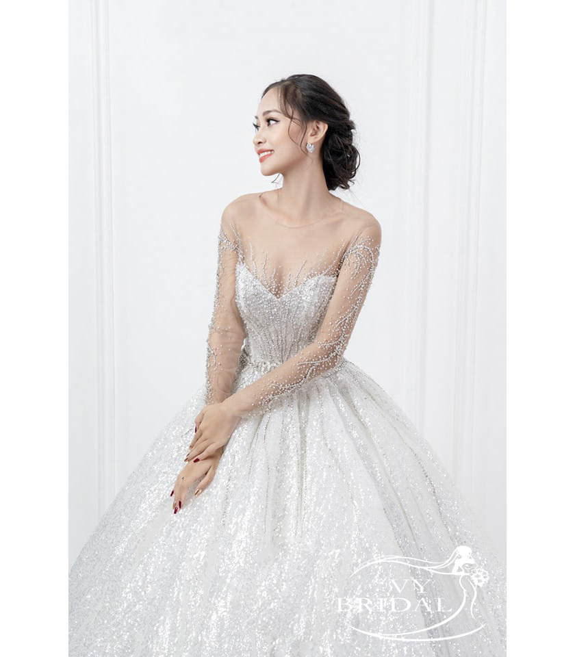 Luxury Wedding Dress - Váy Nhũ Nhún