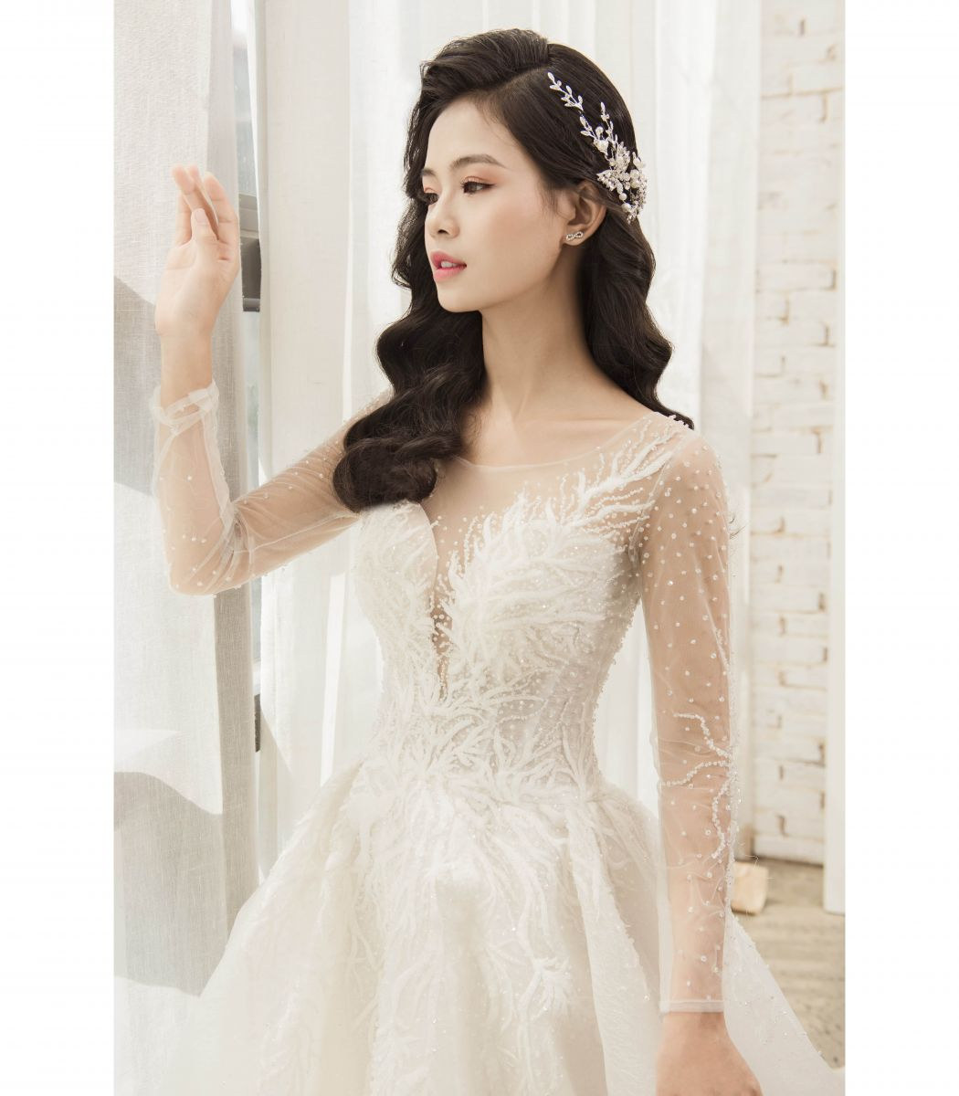 Dreamy Wedding Dress - Váy Nhũ Mưa