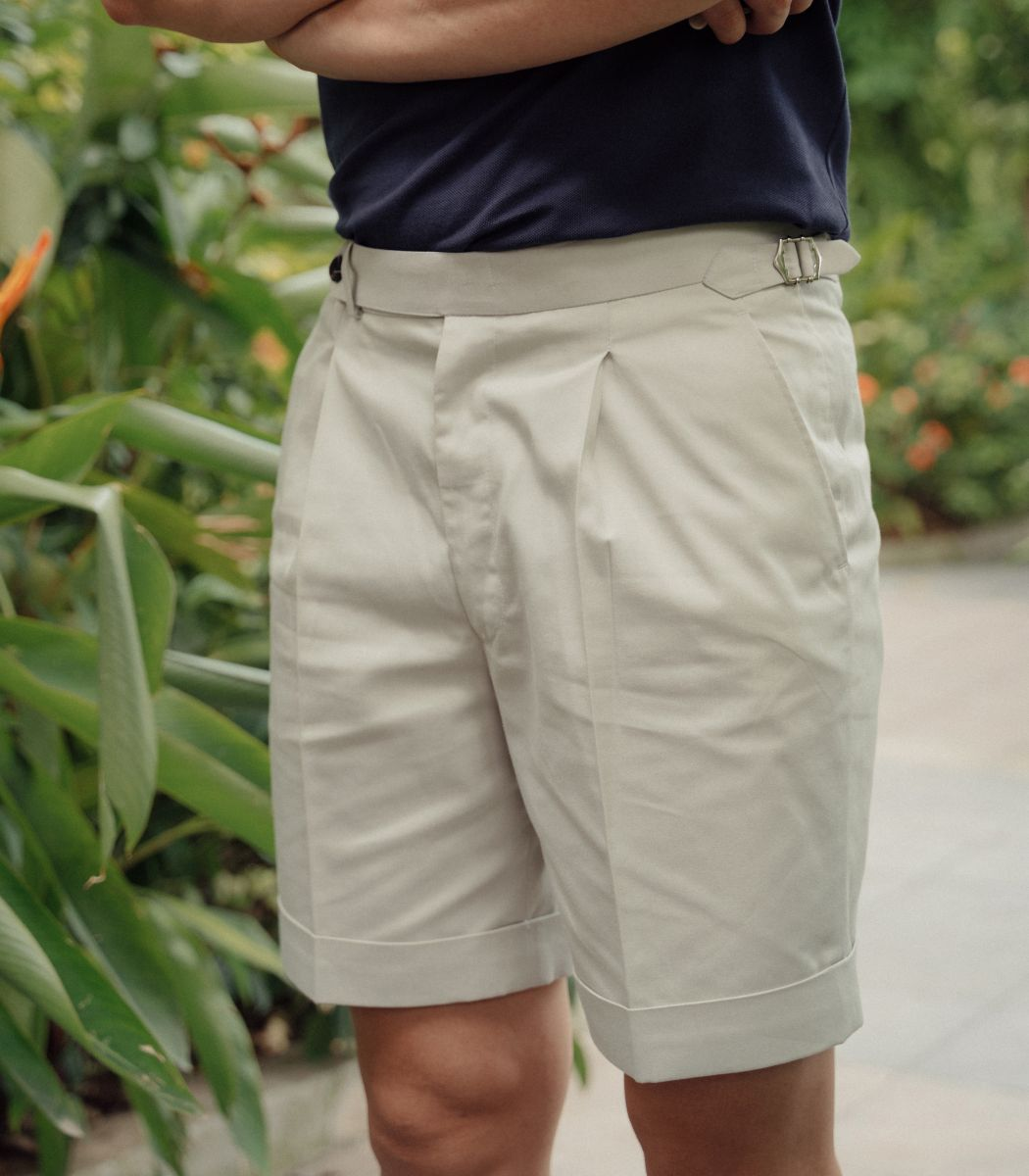 QUẦN SHORT KHAKI BE